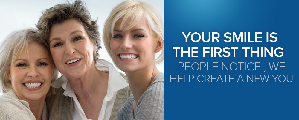 Your smile is the first thing peoples notice , we help create a new you
