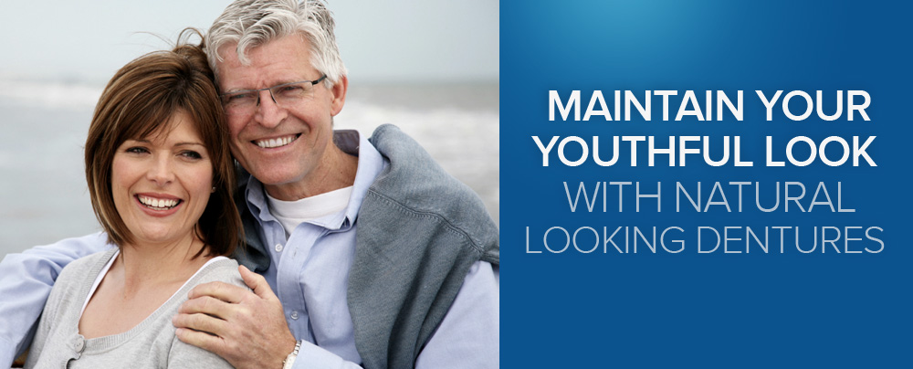 Maintain your youthful look with natural looking dentures